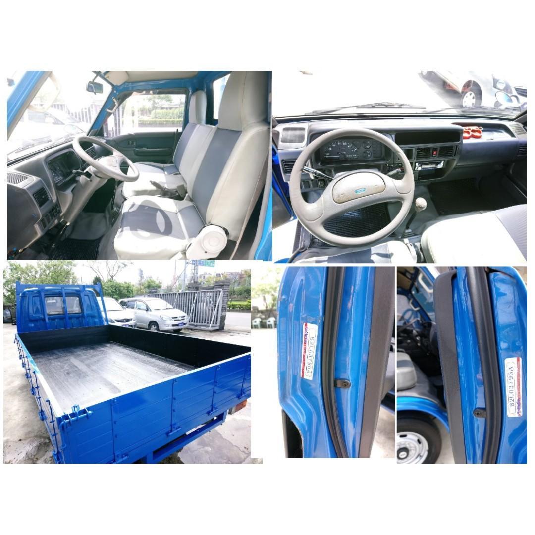 載卡多貨車 一手車 2012年 福特貨車 FORD ECONOVAN 2.0 汽油2000cc 2噸半 小貨車 發財車