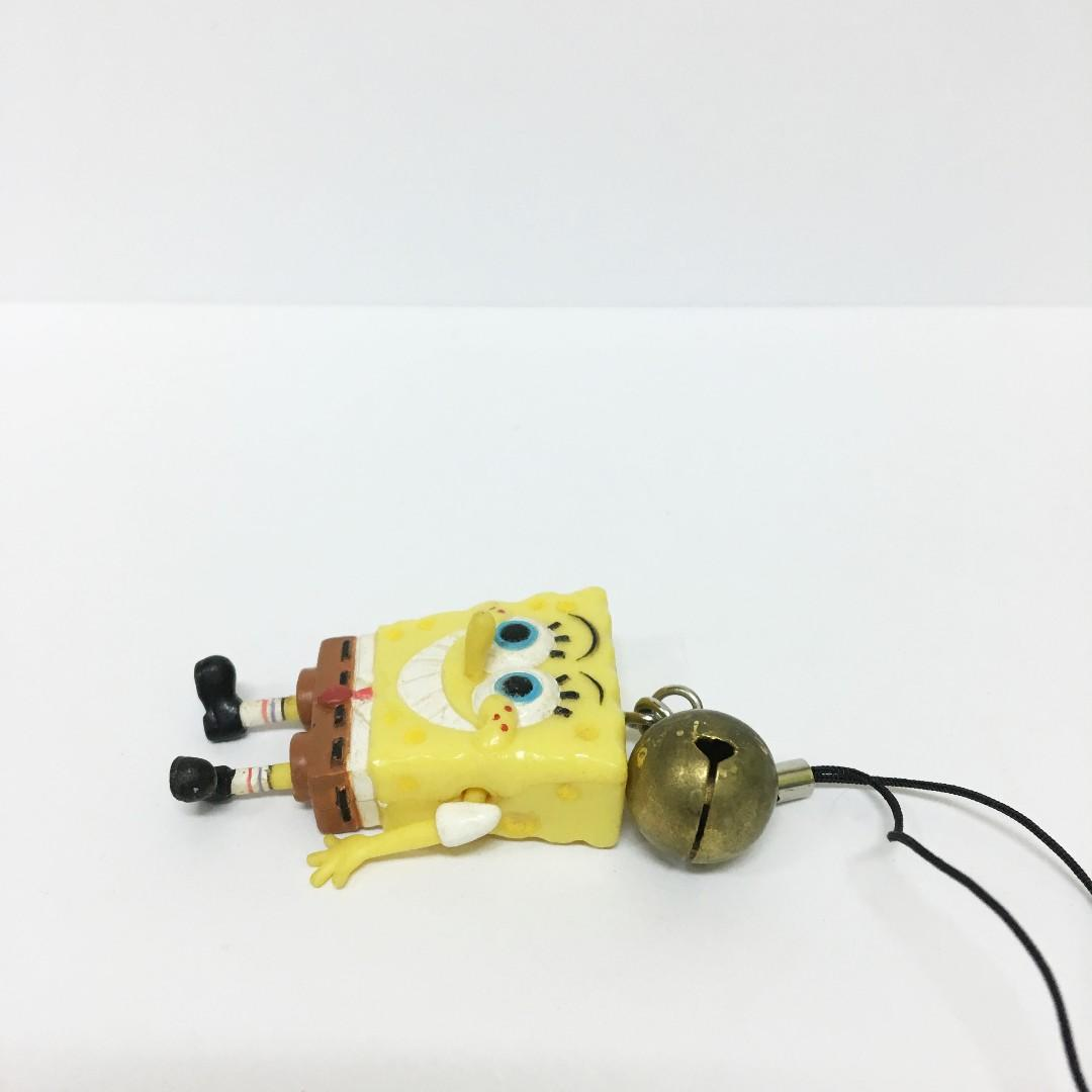 海綿寶寶 公仔 手機 吊飾