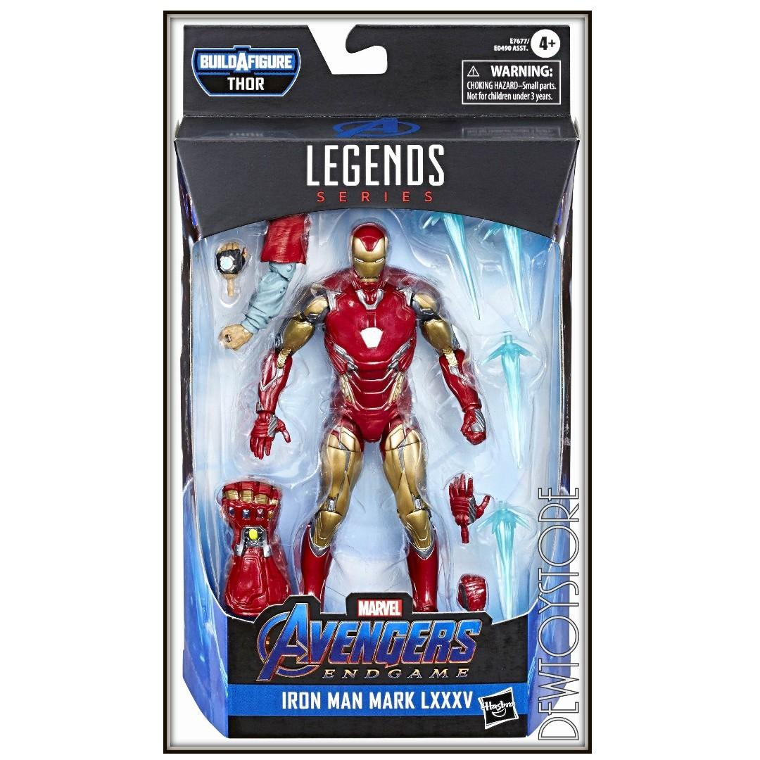 ⭐️ <IN STOCK> Hasbro Marvel Legends Series Action Figure - Avengers : Endgame Wave 3 (Thor BAF) - Iron Man ⭐️