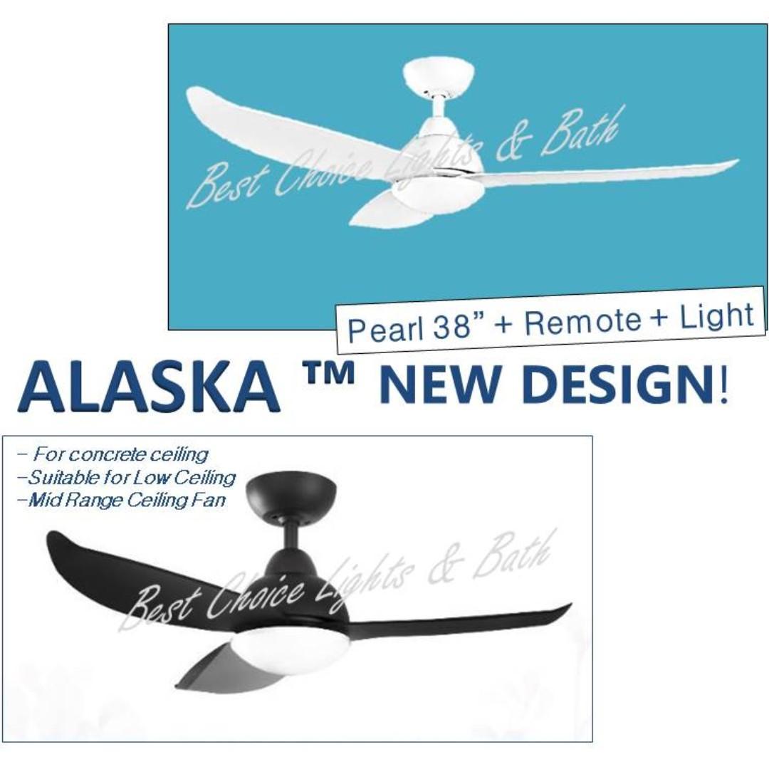 Alaska Best Seller DC ceiling fan Series Pearl 2