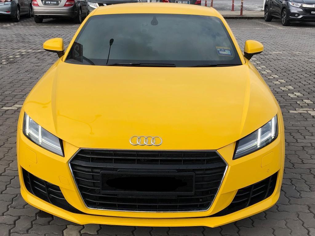 Audi TT available for Rent