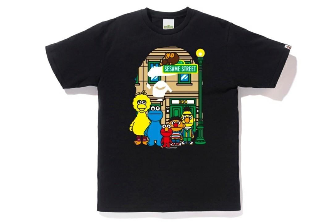 Bape x Sesame Street Ape head tee