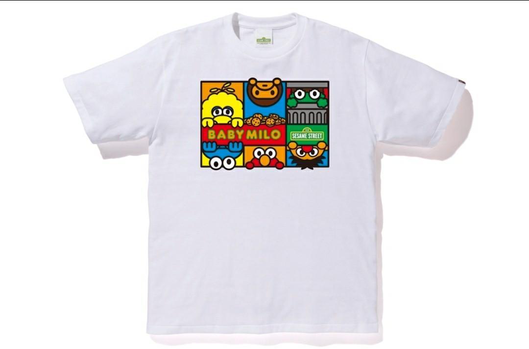Bape x Sesame street character tees # 2