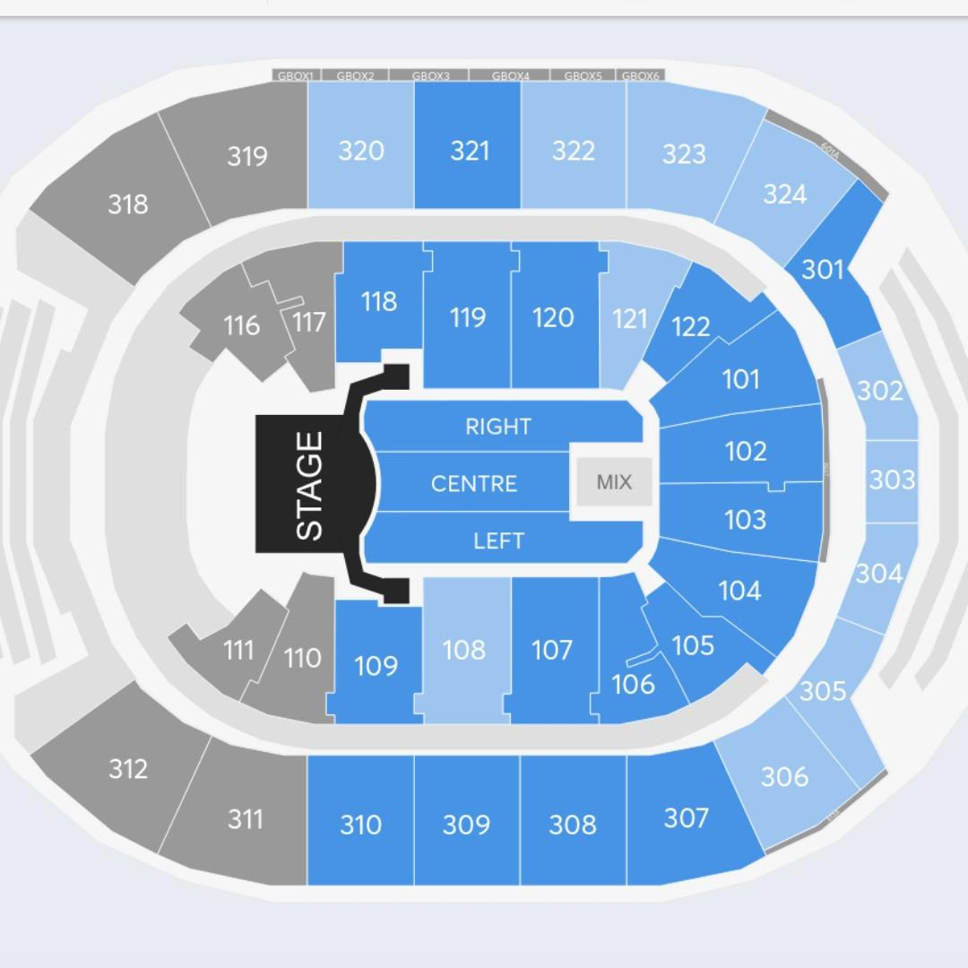 Celine Dion COURAGE World Tour December 10, 2019 concert tickets x2