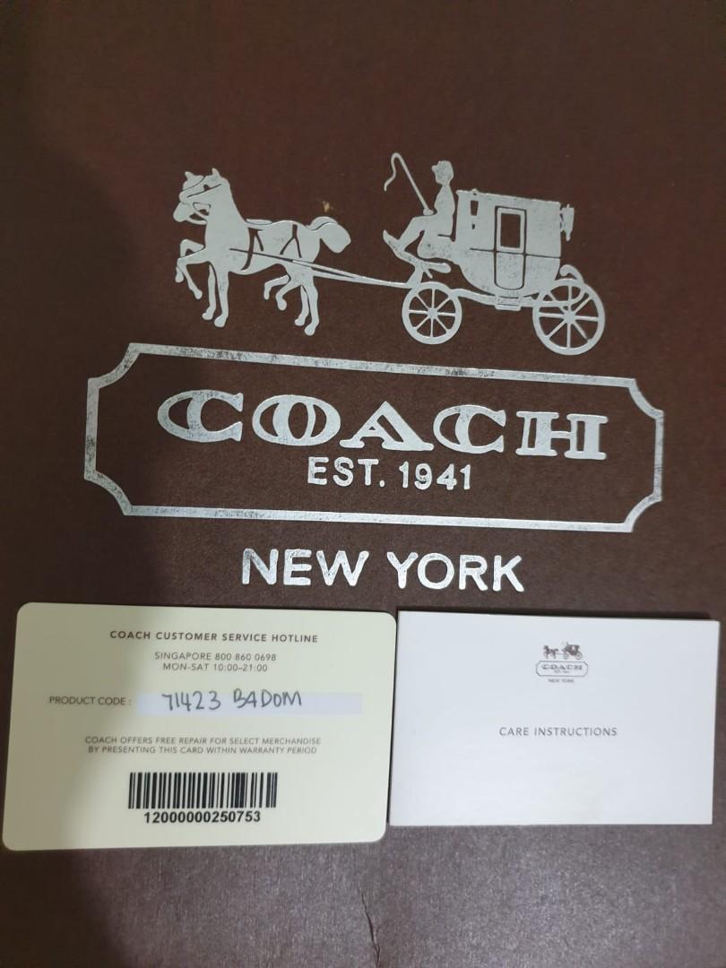 Coach Bleecker Map Bag