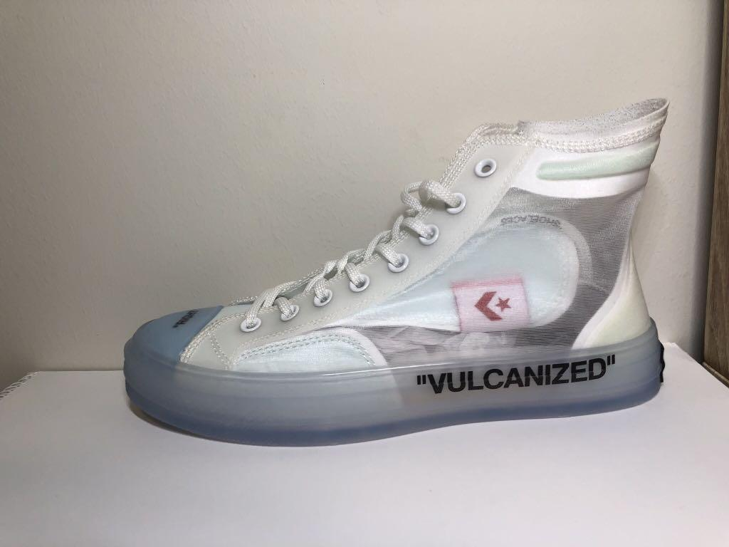 Sales promotion for sale more photos Converse Chuck Taylor All-Star Vulcanized Hi Off-White ...