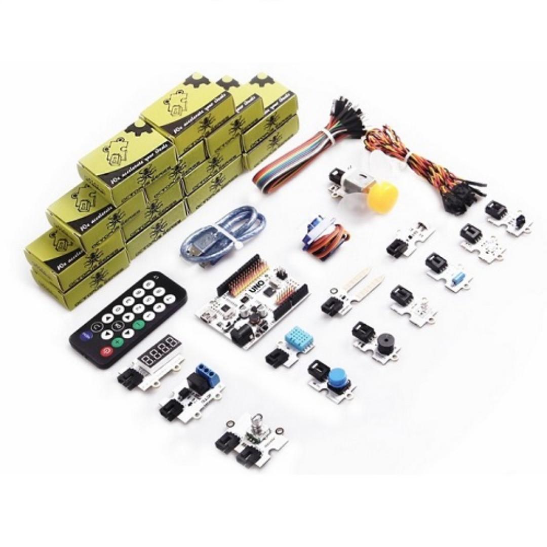 ElecFreaks, Arduino Starter Kit - Absolute Beginner (7 Days Warranty)