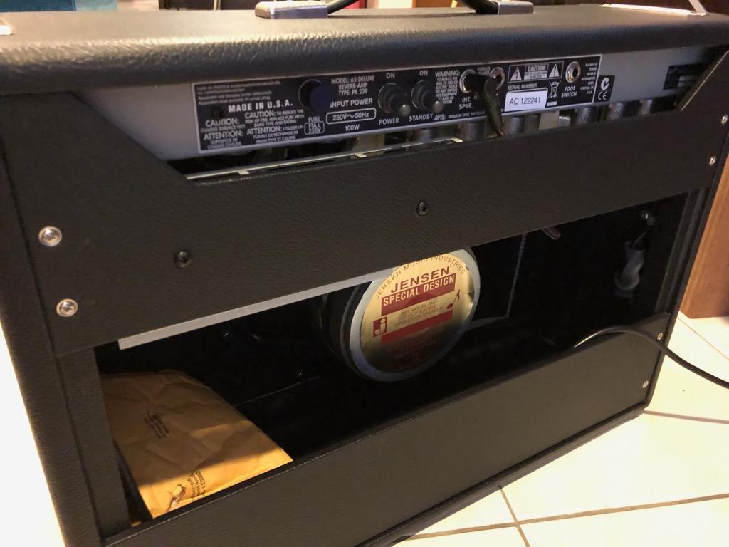 Fender 65 Reissue Deluxe Reverb Amplifier
