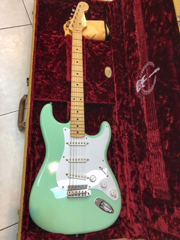 Fender Custom Shop 1954 60th Anniversary Limited Edition Stratocaster NOS Surf Green