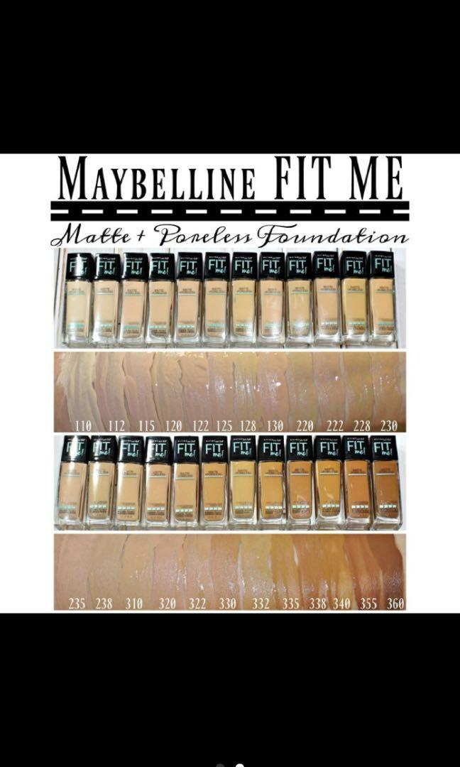 Foundation Maybelline