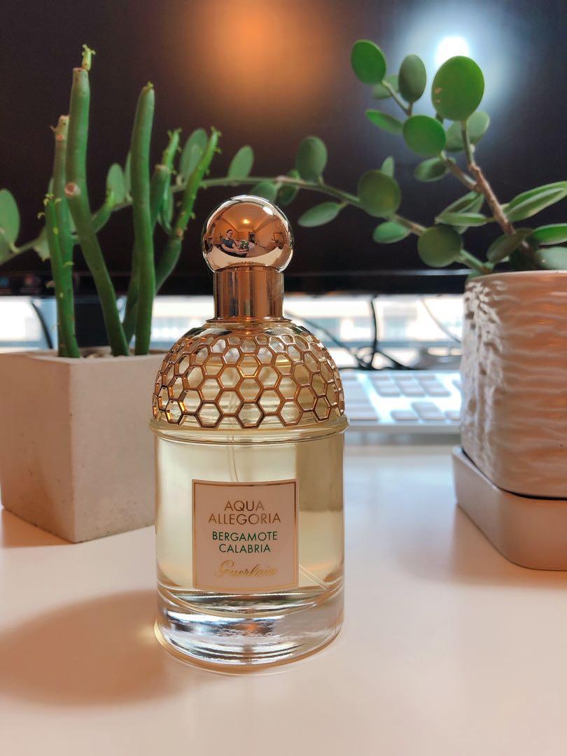 機場購入 Guerlain Bergamote calabria 嬌蘭花草水語沐光沁檸淡香水