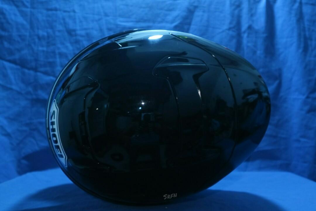Helm shoei x12 Black not arai agv nolan xlite kbc nhk kyt kabuto Bell