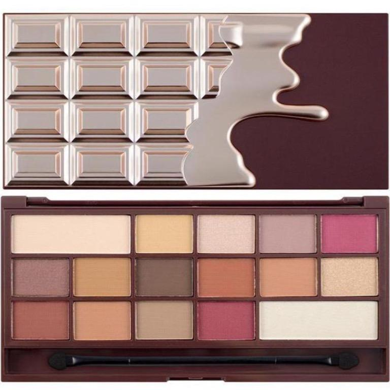 I HEART REVOLUTION CHOCOLATE ELIXIR CHOCOLATE EYESHADOW PALETTE