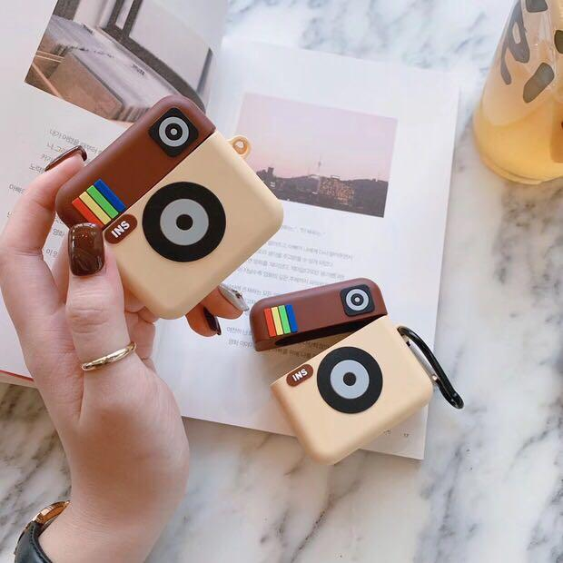 Instagram Logo AirPods Casing