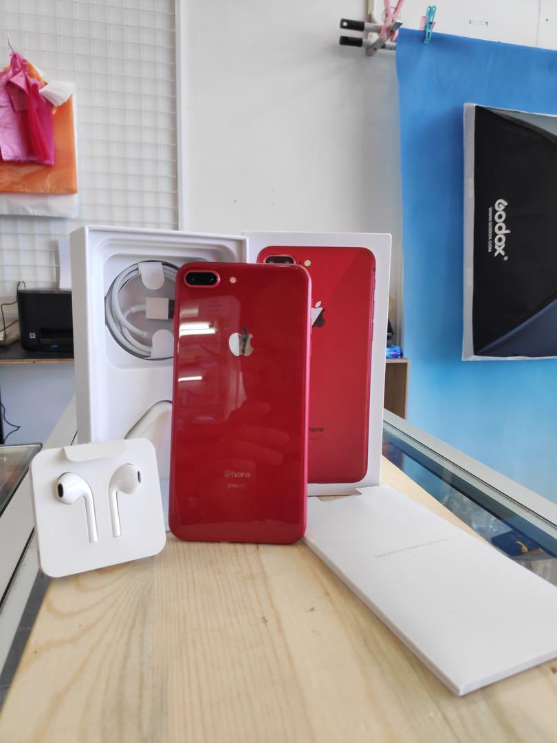 Iphone 8plus 256gb red