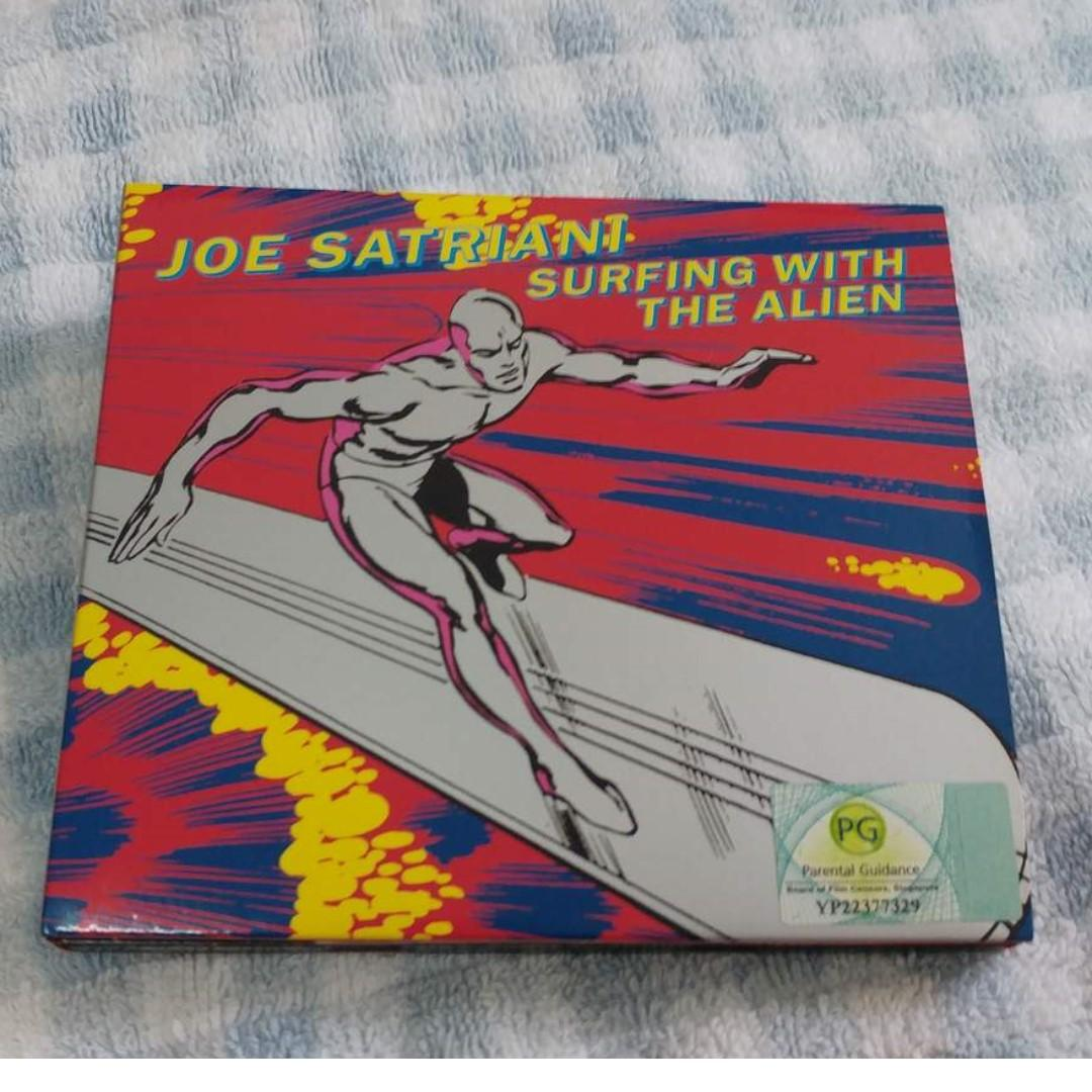 Joe Satriani Surfing with The Alien 2CD re-issue