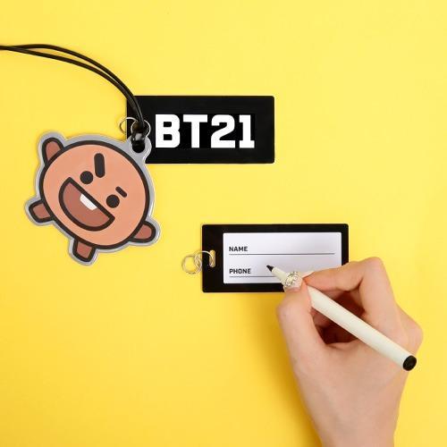[KOREA PS/NO EMS] BT21 BTS MONOPOLY NAME TAG / LUGGAGE TAG