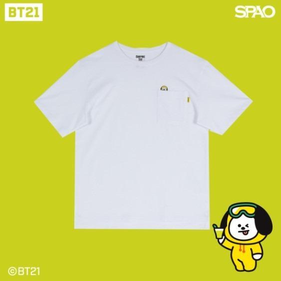 [KOREA PS/NO EMS] BT21 BTS SPAO - SHORT SLEEVE TSHIRT (TYPE 2)