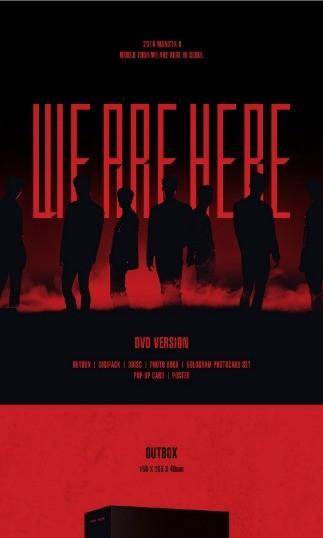 MONSTA X 2019 World Tour - WE ARE HERE in SEOUL - DVD