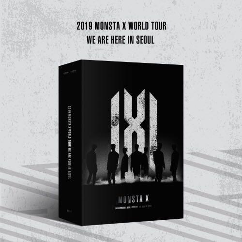 MONSTA X WORLD TOUR [WE ARE HERE] IN SEOUL KIT VIDEO 2019