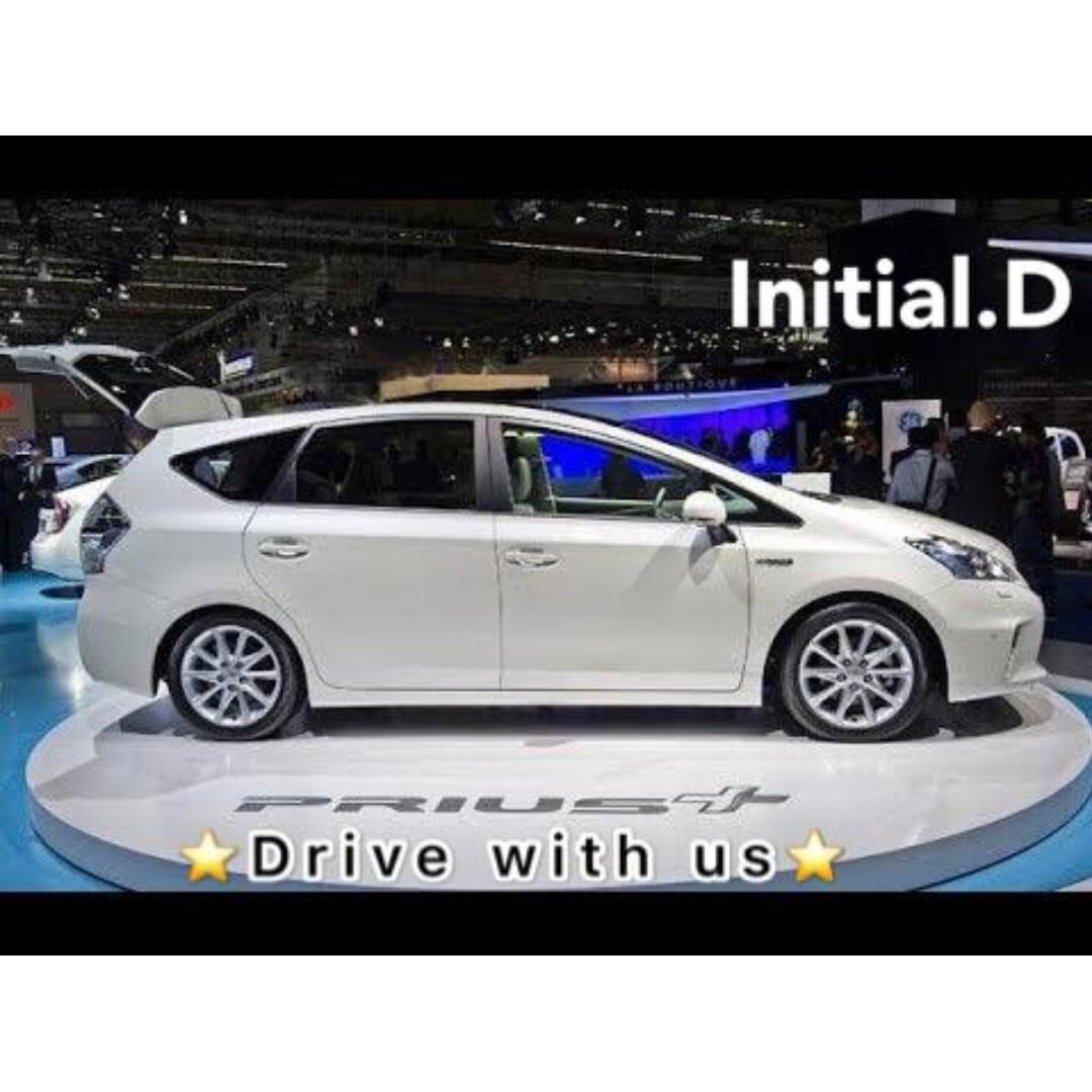 New Prius Plus 2019 INSTANT DRIVE AWAY WITH $500 DEPOSIT + $4900 FREE PETROL / 18 FREE RENTAL DAYS