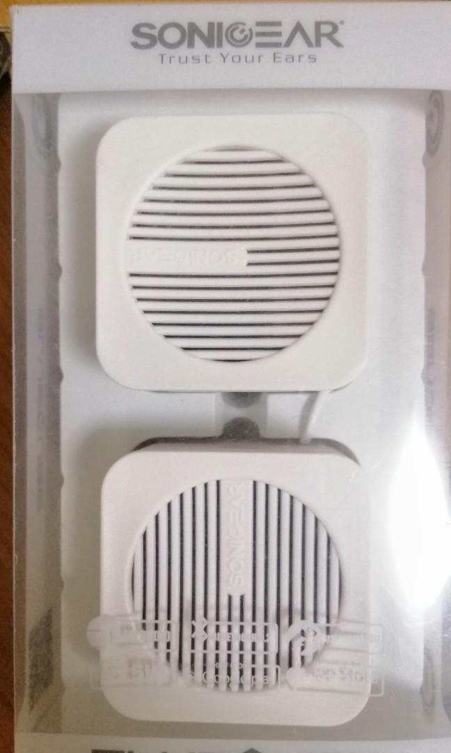 New Sonicgear portable speaker