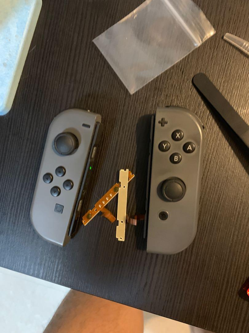 Nintendo Switch joycon 維修