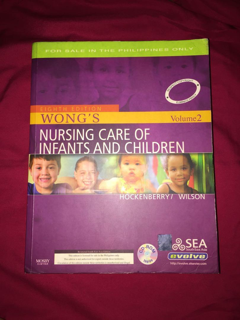 Nursing Care of Infants and Children 8th Edition(Wong's-Hockenberry&Wilson) Volume 1-2 with CD