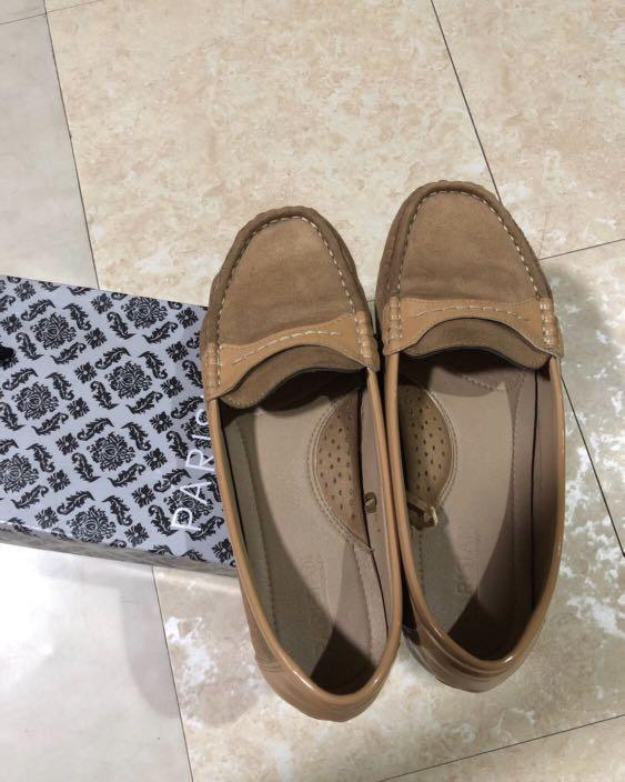 Parisian Brown Comfy Top Sider on Carousell