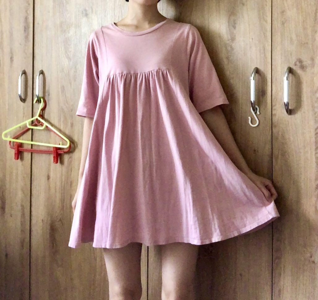 PAZZO傘狀裙長版連衣裙