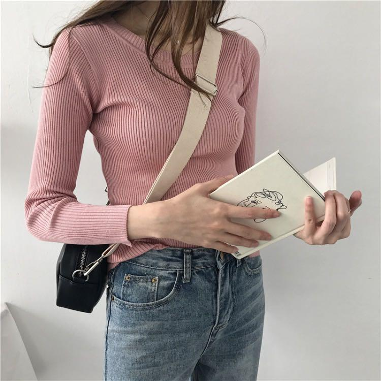 Pink Sweater (Thin)