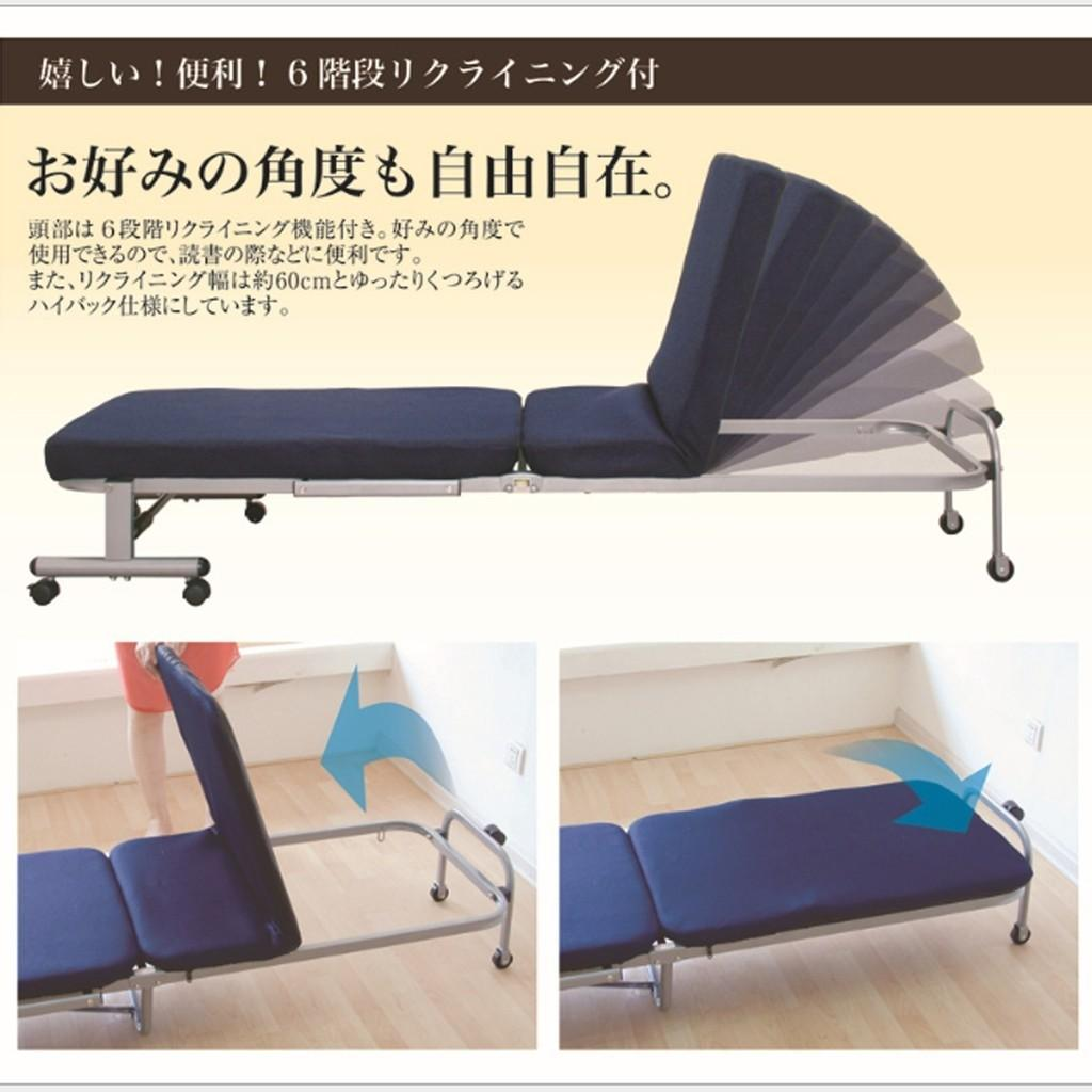 [PREORDER] 🆕🆒Japanese Modern Metal Foldable single Bed With Mattress/Foldable Bed