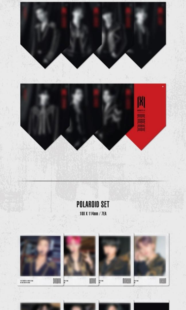 [PREORDER] MONSTA X 2019 WORLD TOUR KIT <WE ARE HERE>