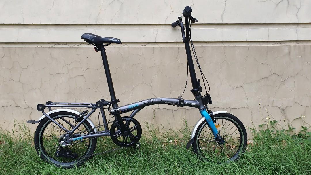 Sepeda Lipat United Trifold 3s Mulus like New, Olah Raga