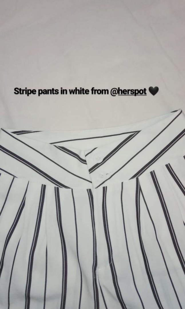 Stripe panst by herspot. Baru sekali pake. All size. really good condition.