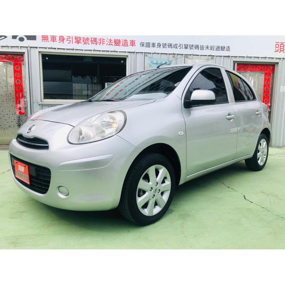 【SUM尼克汽車】2014 Nissan March 1.5L