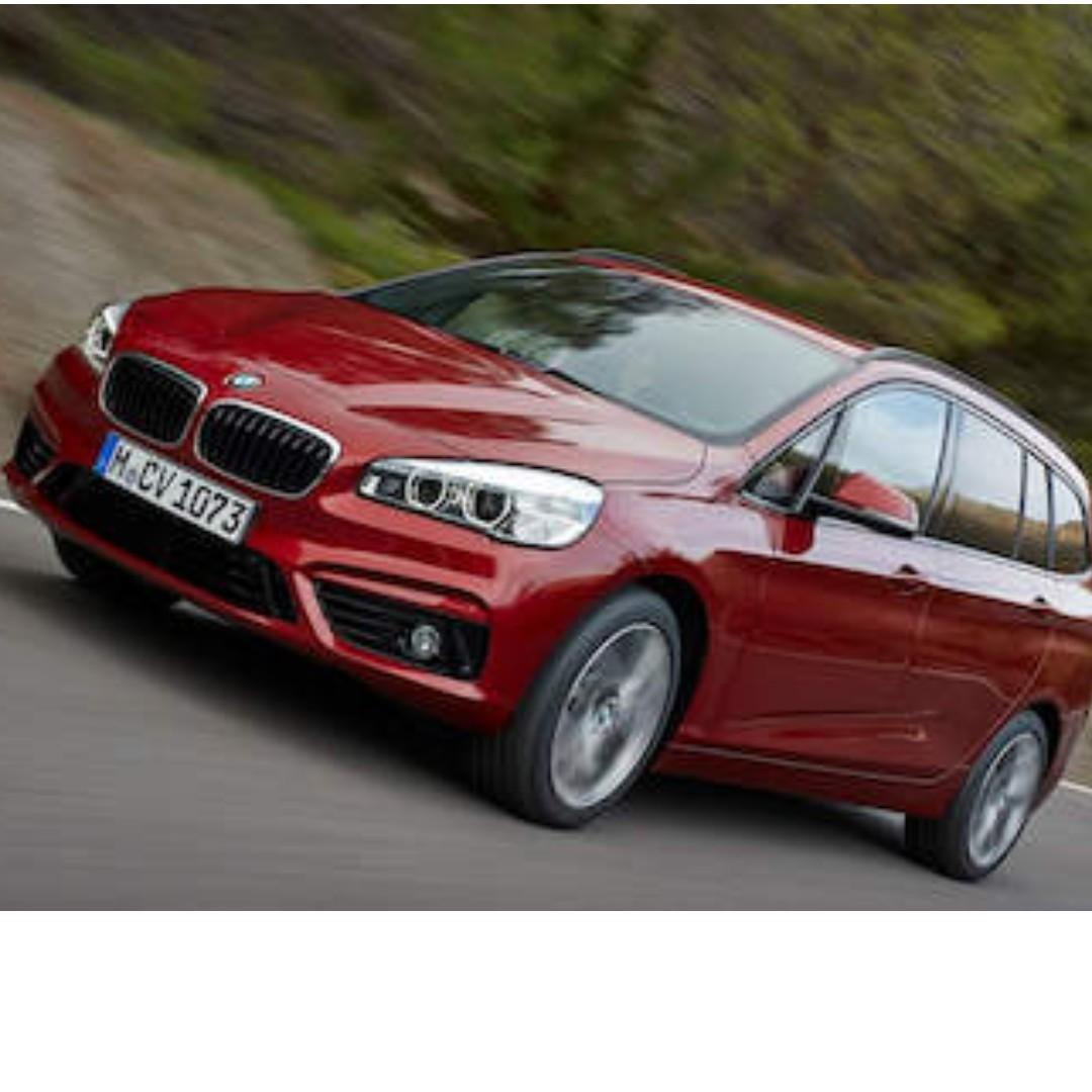 Super low mileage (hardly drive) for takeover of remaining lease BMW216i