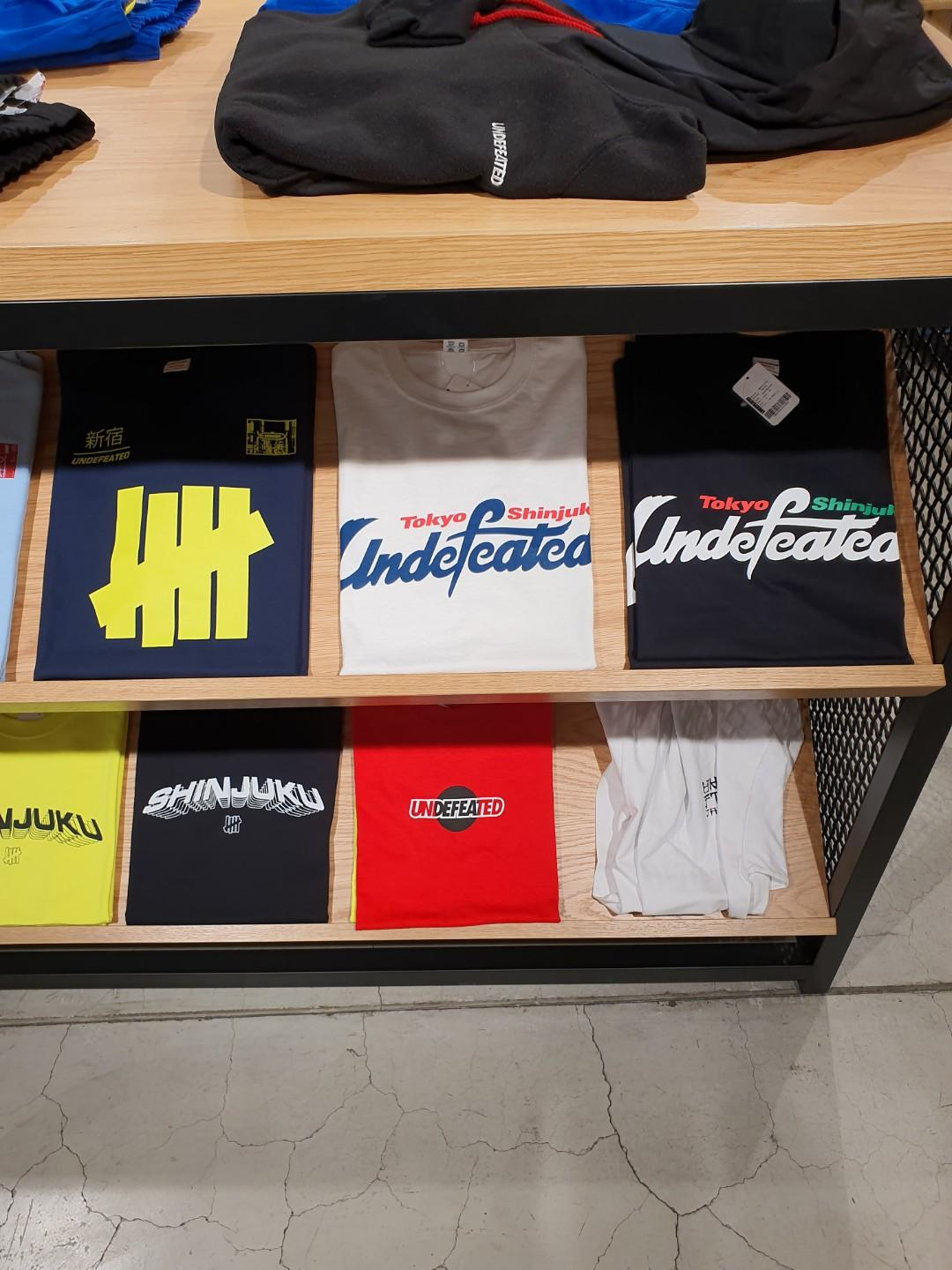 Undefeated tees