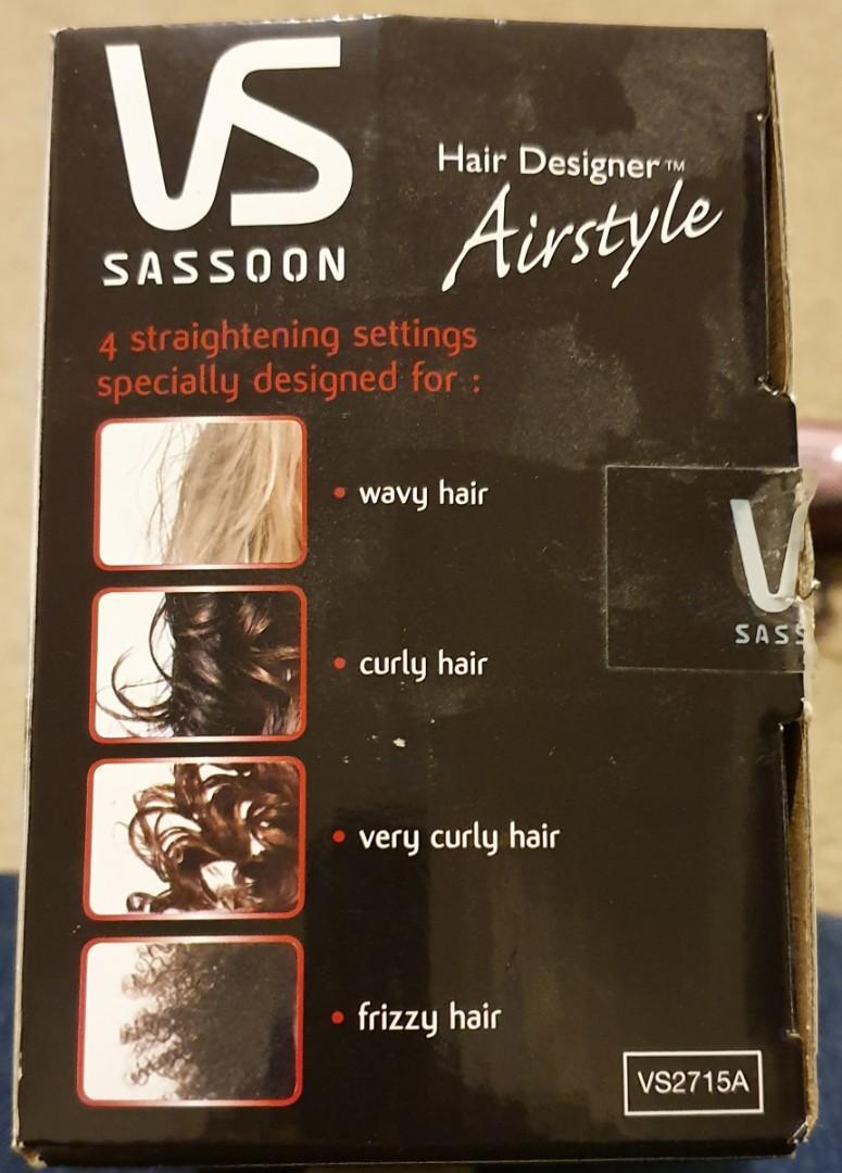 VS Sassoon Hair Designer Airstyle - ioniceramic - NEW