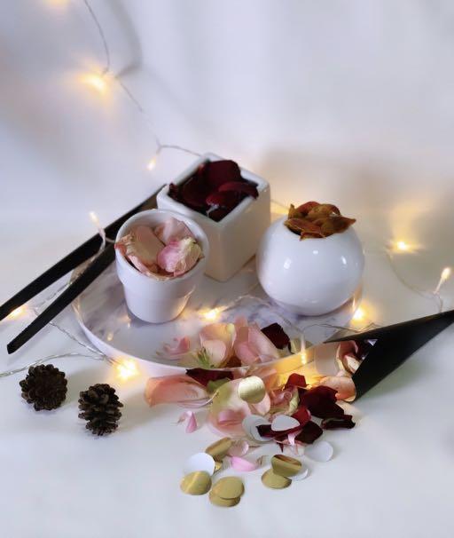 Wedding Flower and Confetti Bar