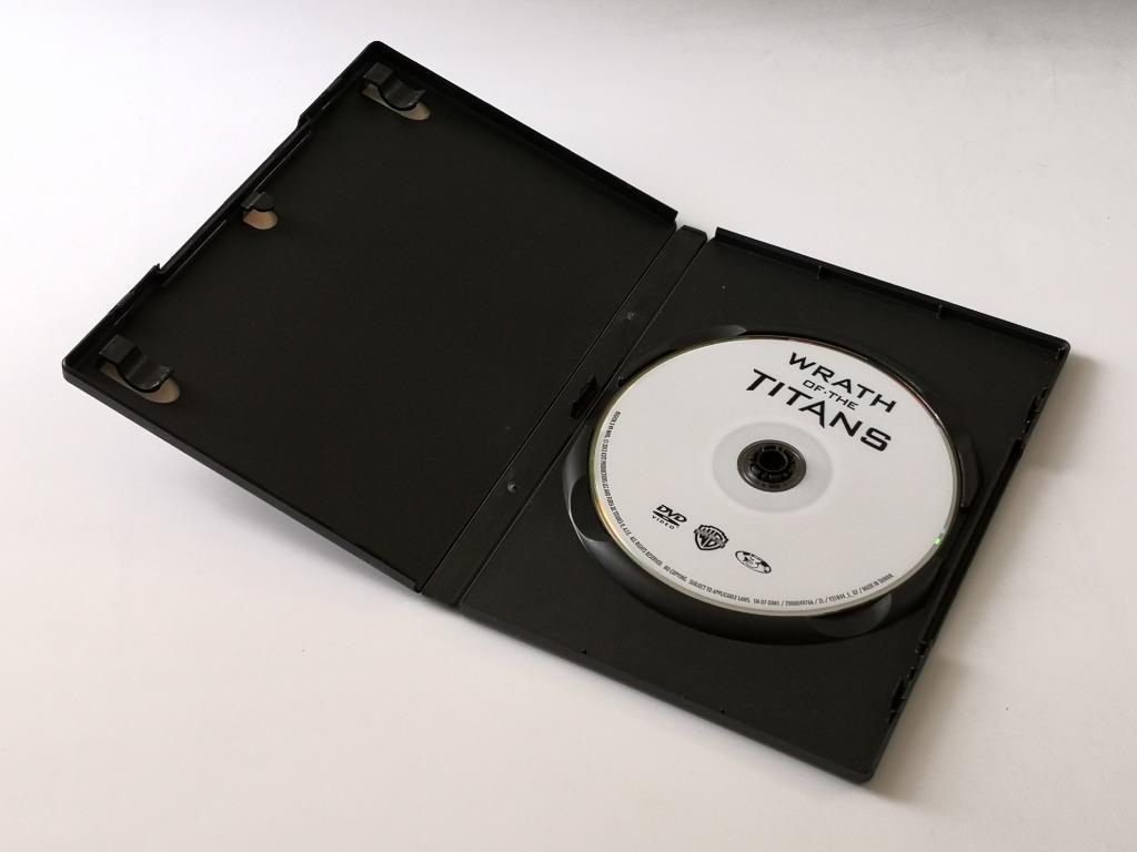 Wrath Of The Titans DVD Movie