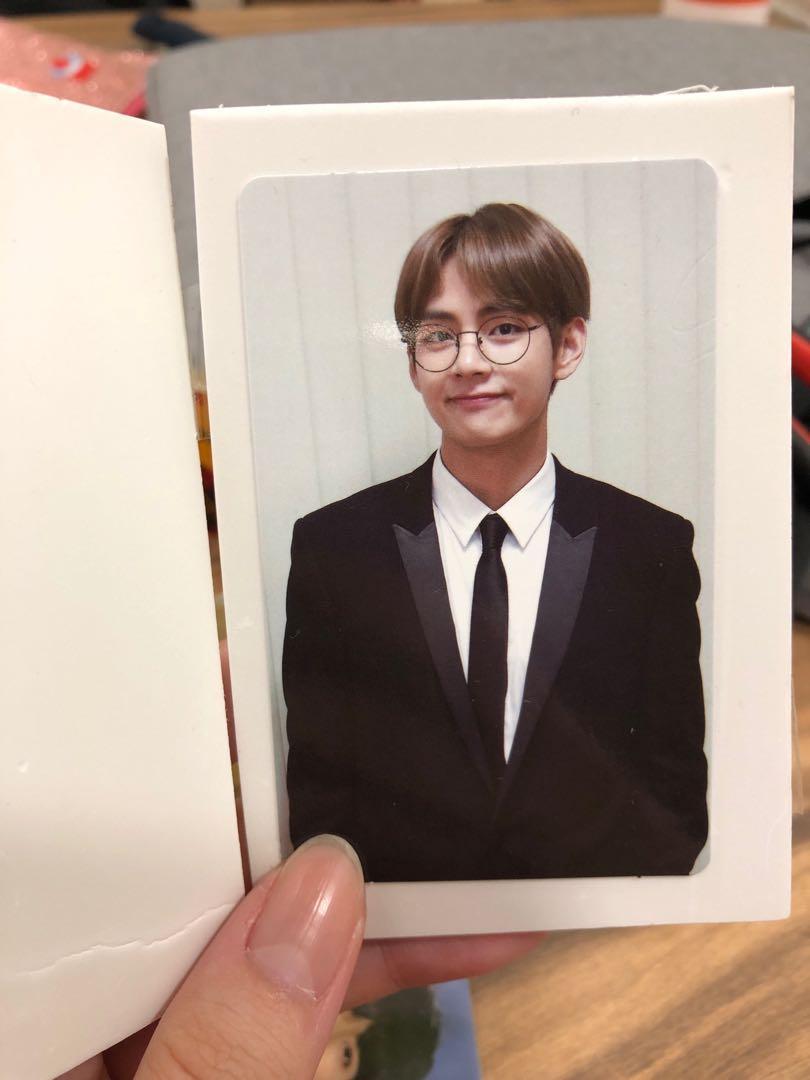 wtt taehyung bts memories of 2018 photocard pc