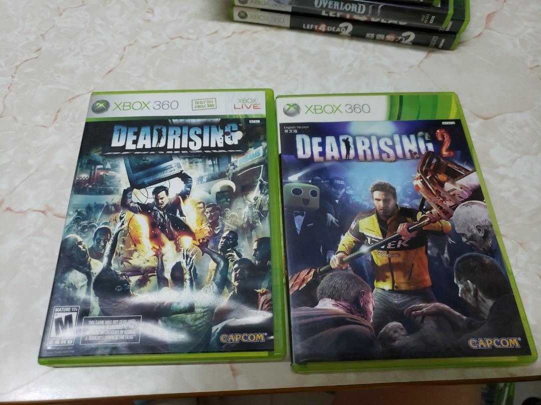 Xbox 360 Gamesdeadrising 1 2