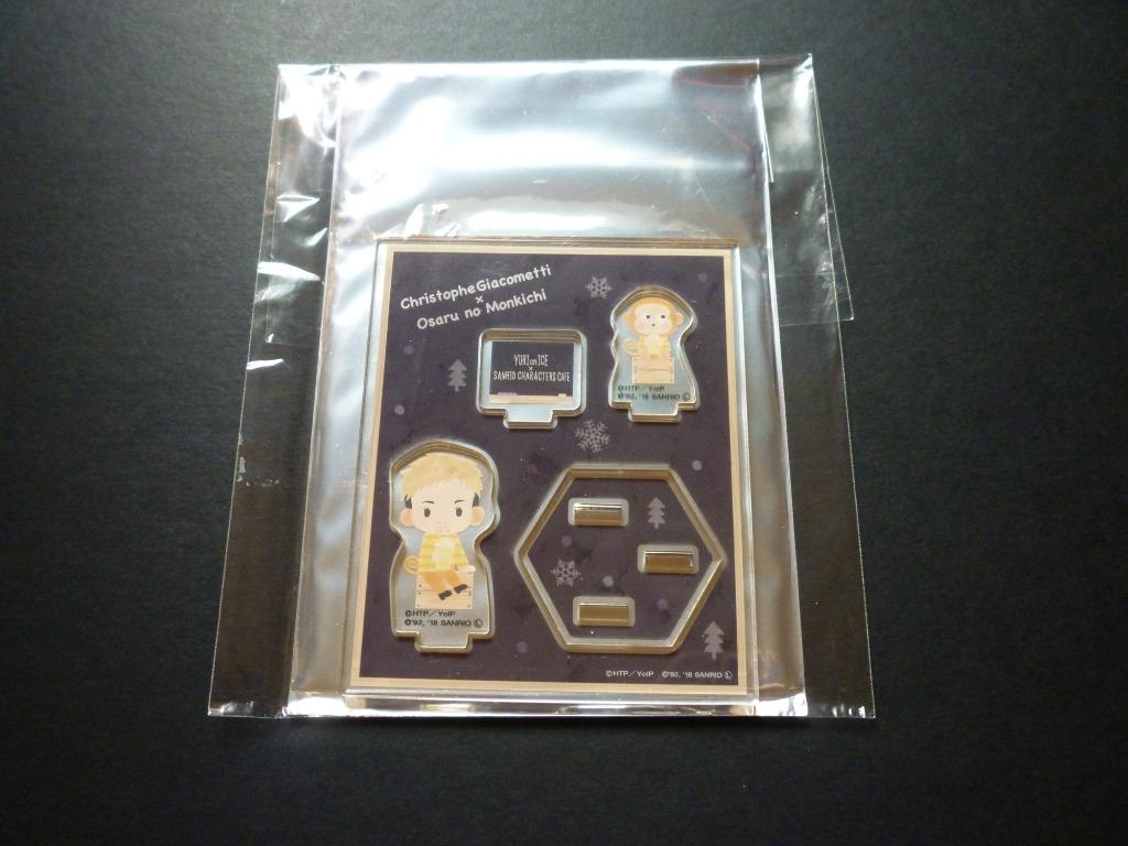 Yuri!!! on Ice × Sanrio Characters Acrylic Stand Pop ( Limited + Exclusive)