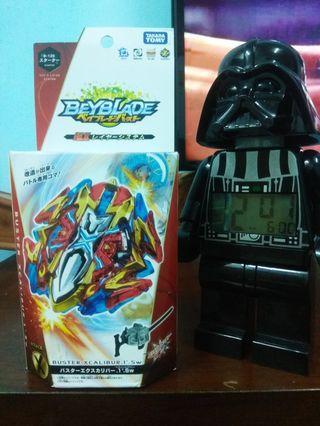 "Original Takara Tomy Beyblade Burst Starter  "" Buster xcalibur .1'.Sw"