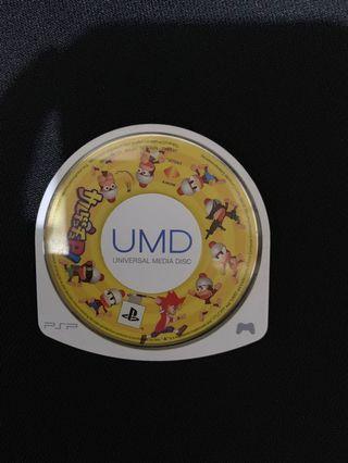 PSP 遊戲裸裝  正版光碟/猴子愛作戰