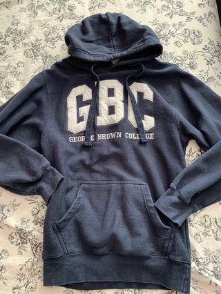 George brown college navy blue hoodie