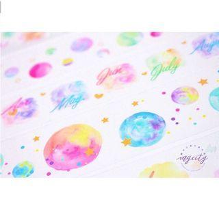 [PO] pastel translucent washi tape