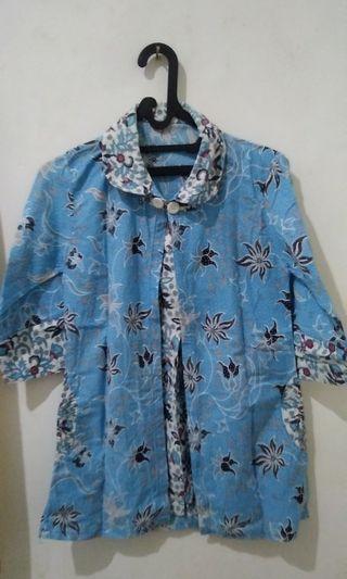 Kemeja Batik Cewek Casual