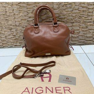 REPRICE aigner cow leather bag  NOW only 2.4jt